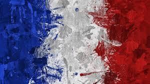 french flag art